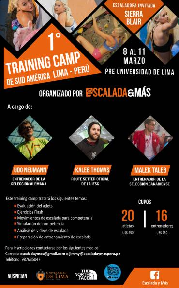 1er Training Camp de Sud-América