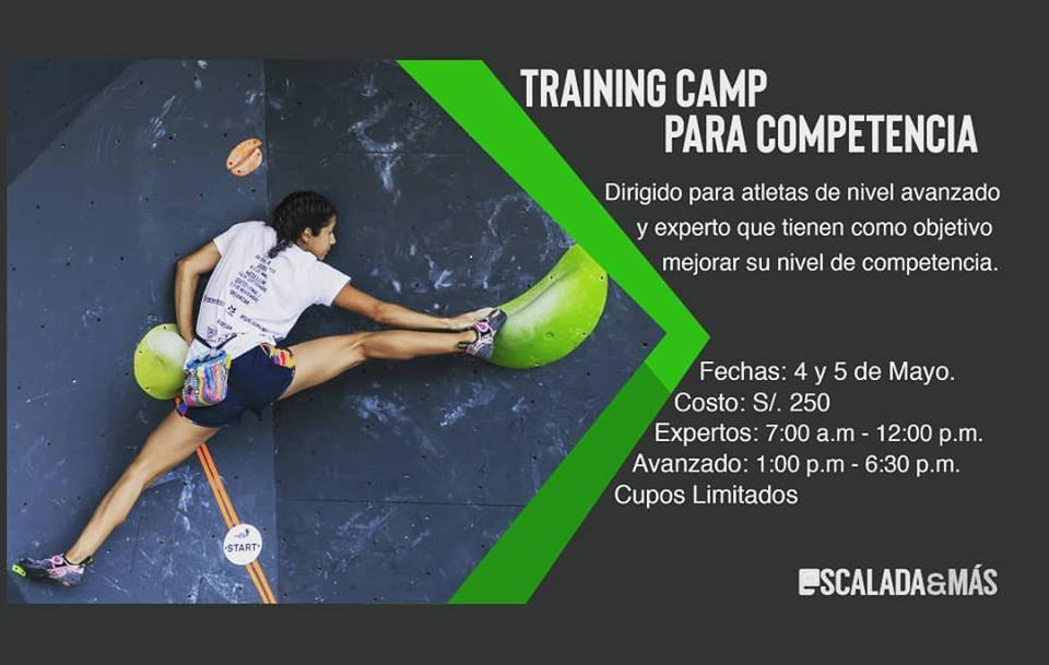 Training Camp para competencia